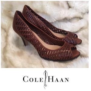 Cole Haan Basket Weave Pumps